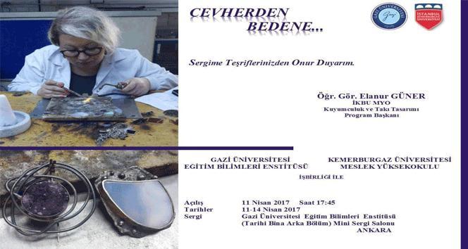Taşın gümüşle buluşma serüveni 'Cevherden Bedene'