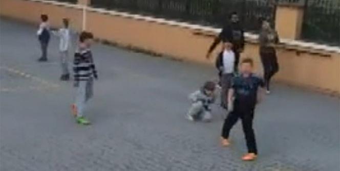 Lens çocuklarla top oynadı