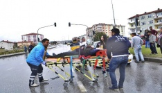 Çorumda zincirleme trafik kazası: 4 yaralı