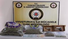 Tuncelide 44 kilogram uyuşturucu ele geçirildi