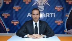 AK Parti İl Başkanı Emrah Özdemir referandum çalışmasında