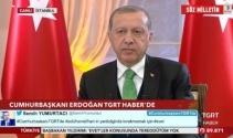 Cumhurbaşkanı Erdoğandan tarihi AB açıklaması
