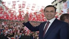 AK Parti Trabzon Milletvekilleri Cora ve Günnar referandum çalışmalarını sürdürüyor