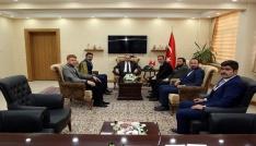 Bayburt Ülkü Ocakları, Vali İsmail Ustaoğlunu ziyaret etti