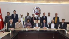 Ummanlı iş adamları Trabzonda yatırım fırsatı arıyor