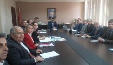 Pınarhisar Kaymakamı Eren okul müdürleriyle bir araya geldi