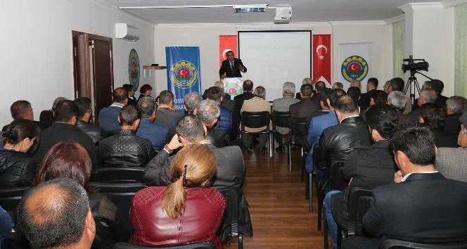Osmaniye Ziraat Odasında yerfıstığı semineri