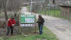 Belediye ekipleri yeni yürüyüş yolları keşfediyor