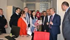 Milletvekili Ceritoğlu sosyal hizmetler merkezini ziyaret etti