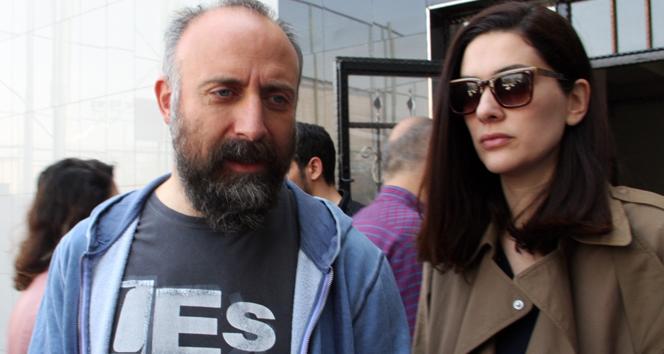 Halit Ergenç ve Bergüzar Korel oyunu kullandı
