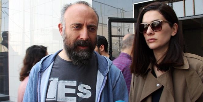 Halit Ergenç ve Bergüzar Korel oylarını kullandı