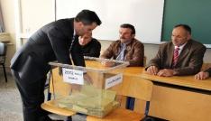 Sivasta oy verme işlemi tamamlandı