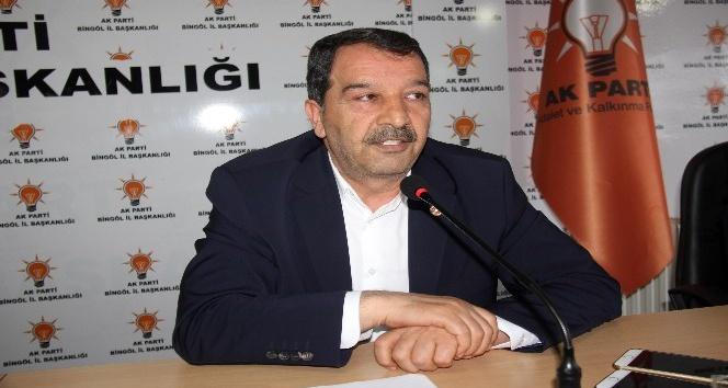 AK Partili Fehimoğlu: Bingöl Türkiyede kendisinden bahsettirecek bir unvan kazandı