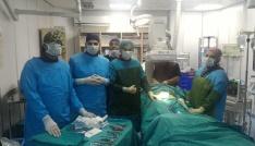 Niğdede ilk defa, ameliyatsız aort damarı tamiri yapıldı