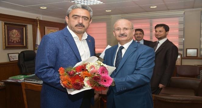 Müftü Topaloğlu, Başkan Alıcık'ı ziyaret etti