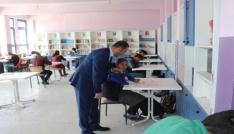 Müdür Edipten okul ziyareti