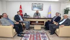 MHP İl Başkanı Karagözden ESOBa referandum ziyareti