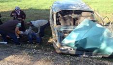 Tokatta otomobil takla attı: 6 yaralı