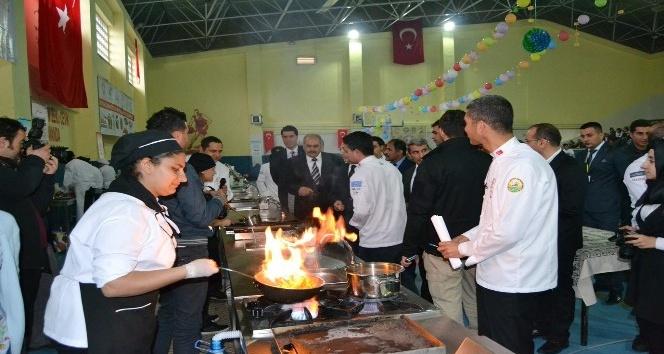 Öğrenciler arasında Yemek yarışması düzenlendi