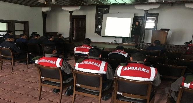 Boğazkalede kolluk personeline değerler eğitimi verildi