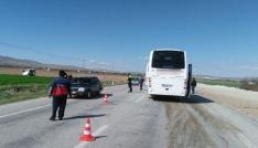 Afyonkarahisarda trafik kazası: 19 yaralı