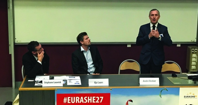 GAÜ Rektör Yardımcısı Davut, KÜB adına EURASHE seminerine katıldı