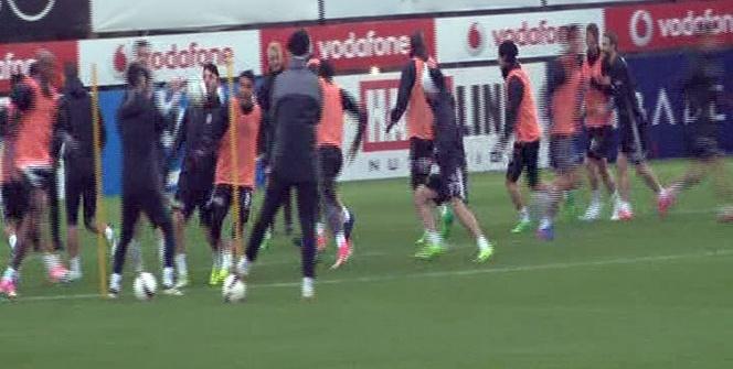 Beşiktaş, Lyon hazırlıklarına devam etti