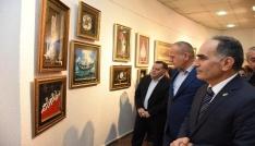 Katı sanatı hat eserleri sergisi açıldı
