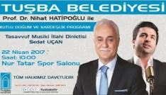 Prof. Dr. Nihat Hatipoğlu Vana geliyor
