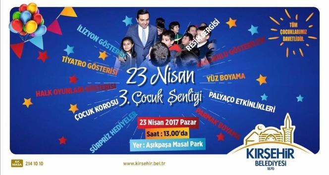 23 Nisan Çocuk Şenliği Masal Parkta yapılacak