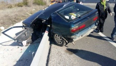 Çankırıda trafik kazası: 2 yaralı