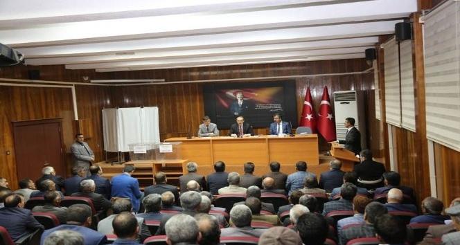 Vali Yavuz, KHGB olağan genel kurul toplantısına katıldı