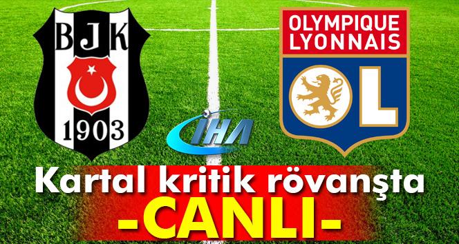 CANLI TRT 1 İZLE: Beşiktaş Lyon UEFA maçı skor kaç kaç| BJK Lyon geniş özeti ve golleri izle