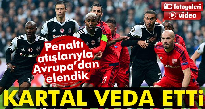 ÖZET İZLE: Beşiktaş 6-7 Lyon (Penaltı) UEFA maçı geniş özeti ve golleri izle (BJK Lyon)