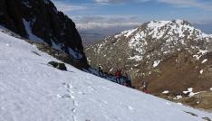 Milli Dağcı Tunç Fındık Erek Dağına tırmandı