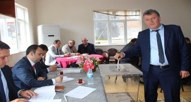 Görelede köylere hizmet götürme birliği seçimi yapıldı