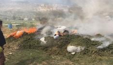 Diyarbakırda ele geçirilen 30 ton uyuşturucu imha edildi