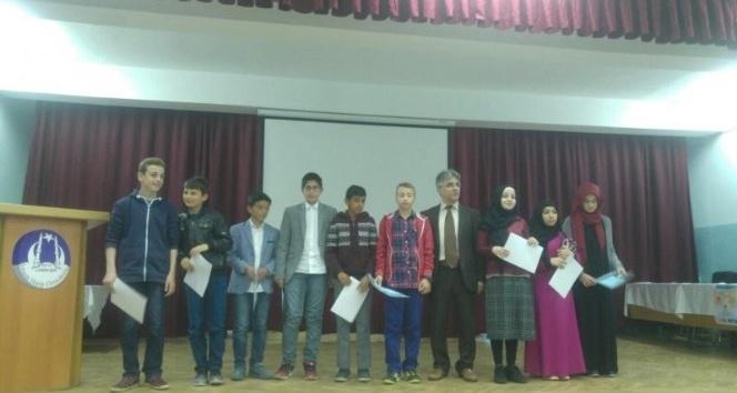 Ezan ve Kuran-ı Kerimi güzel okuma yarışması