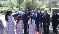 Dutlucalı çocuklar Vali amcaları ile tanıştı