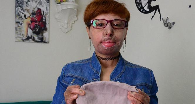 Maskeli kadın maskesini çıkardı |Gaziantep haberleri