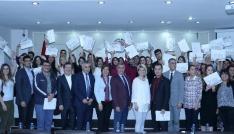 MTSO Sigorta Akademi eğitimini tamamlayan kursiyerler sertifikalarını aldı