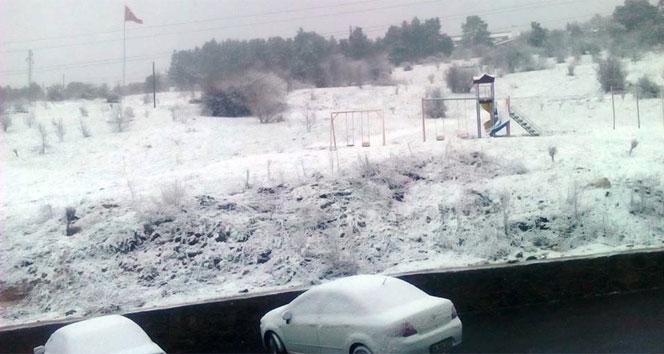Nisan ayında kar sürprizi!