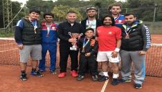 MSKÜ erkek tenis takımı süper lige çıktı