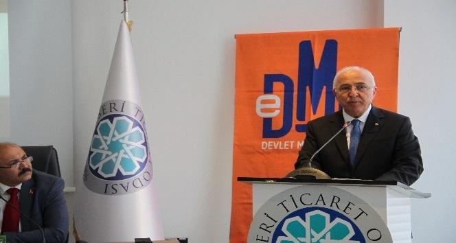 Kayseri Ticaret Odası üyeleri için DMO Tedarik Sistemi semineri düzenlendi