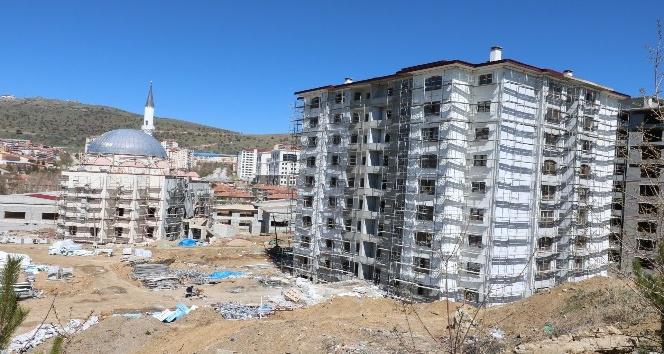 Eski Sanayi Sitesi'ndeki konutlar hızla yükseliyor