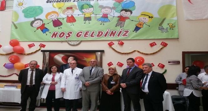 Çocuk Hastanesi çocukların bayramını unutmadı