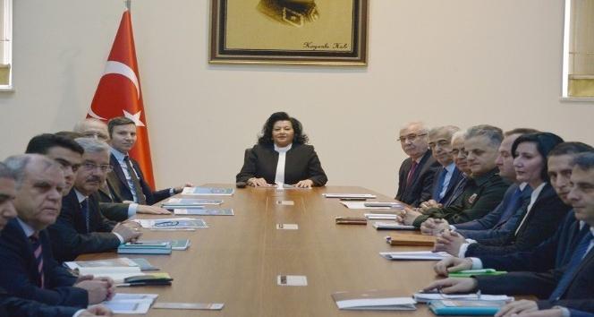 Krıklarelide uyuşturucu ile mücadele toplantısı yapıldı