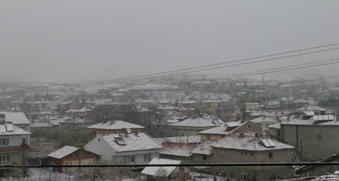 Dodurga'da Nisan karı sürprizi