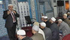 Edremit Alsancak Camiinde dünya hafızlarından Kuran-ı Kerim ziyafeti