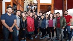Menteşe Belediyesi ADÜlü öğrencileri ağırladı